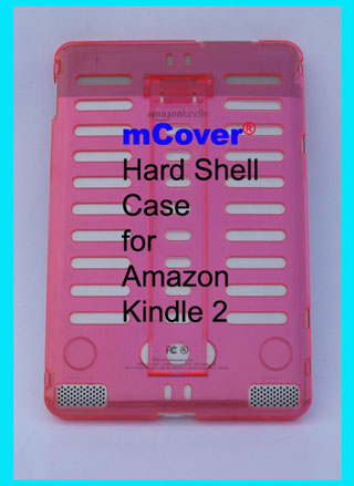 PINK hard case  					for Amazon Kindle 2 6-inch reader