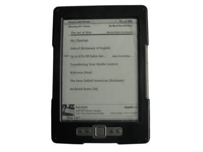 iPearl mCover Hard Shell case for                               Kindle 4 eBook reader