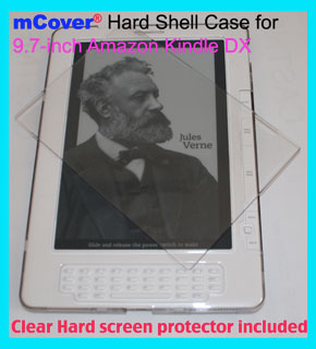 Clear hard case for Amazon Kindle DX                     9.7-inch reader