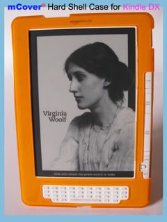 Orange hard case for Amazon                       Kindle DX 9.7-inch reader