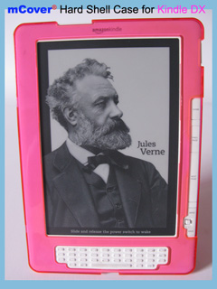 PINK hard case for Amazon                       Kindle DX 9.7-inch reader