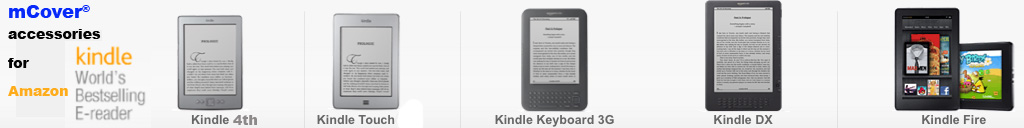 iPearl  	mCover accessories for Amazon Kindles