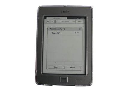 iPearl mCover Hard Shell case for Kindle                       Touch eBook reader