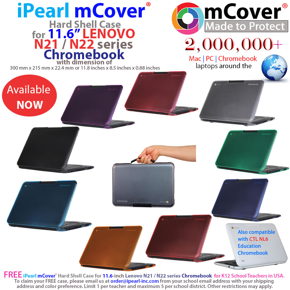 iPearl mCover® for 11 6-inch Lenovo N21 / N22 series