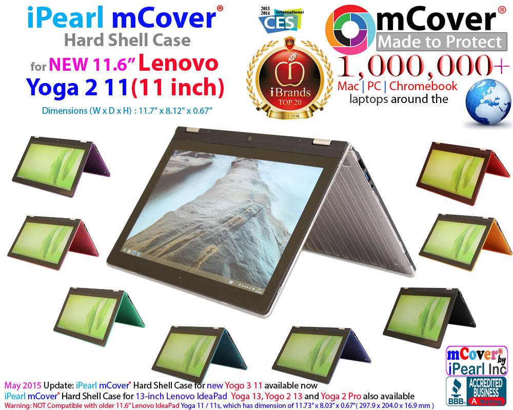 mCover Hard  				Shell case for Lenovo IdeaPad Yoga 11