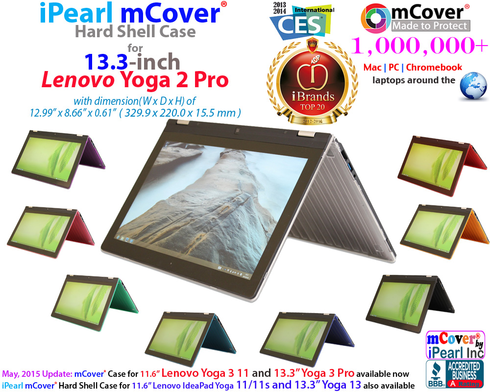 mCover Hard Shell  				case for Lenovo Yoga 2 Pro
