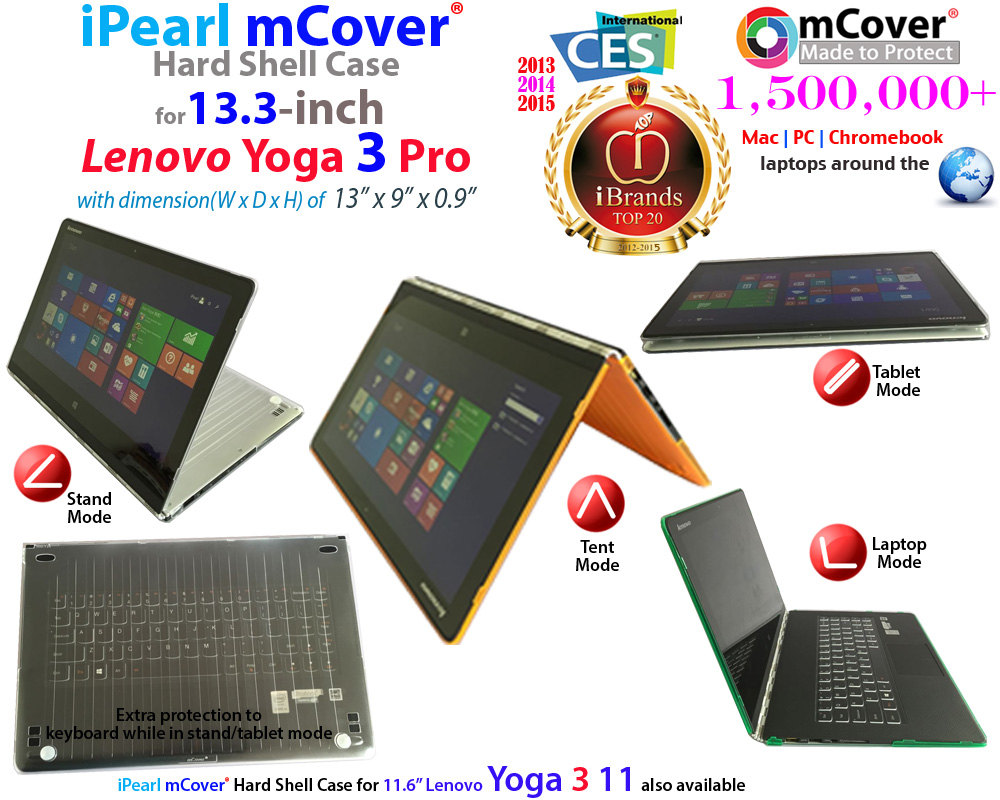 mCover Hard Shell                               case for Lenovo Yoga 3 Pro