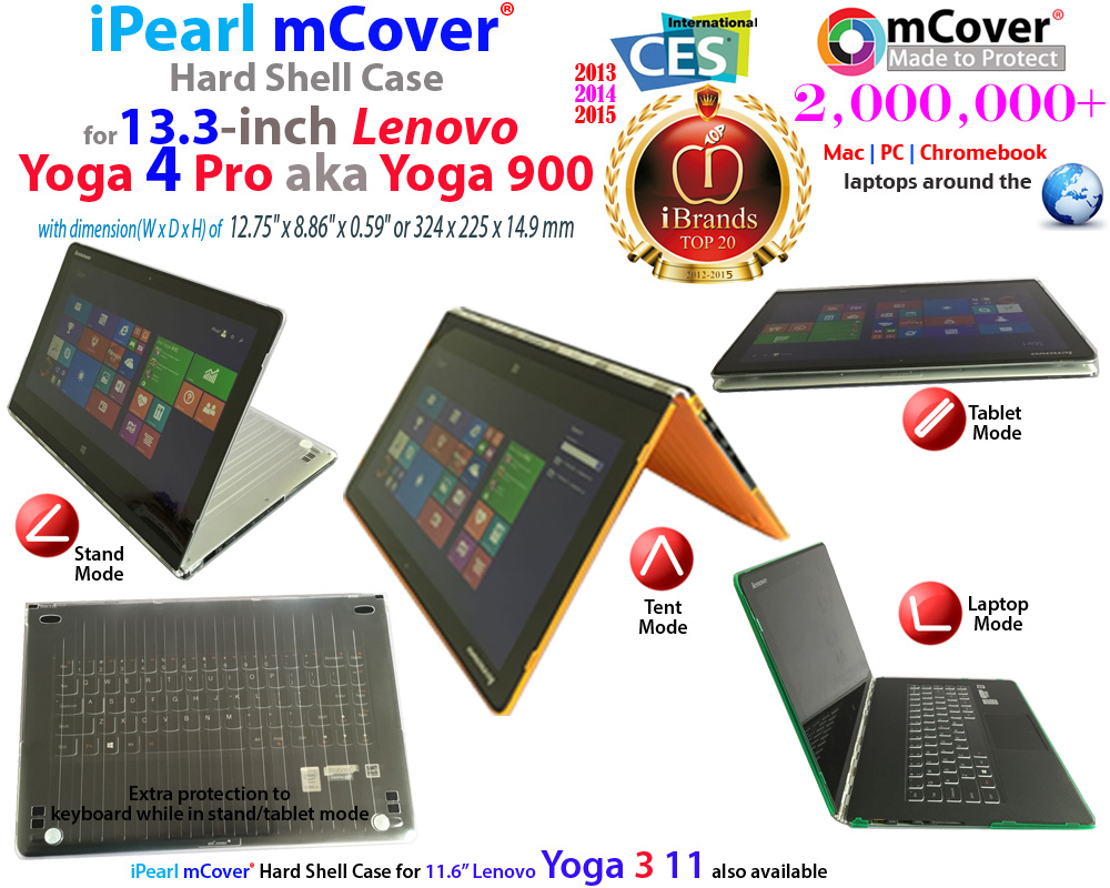 mCover Hard Shell                               case for Lenovo Yoga 4 Pro