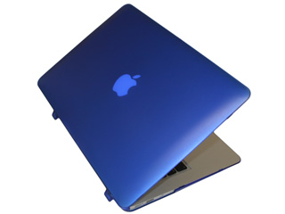 Blue hard shell case for MacBook                                   Air A1369 13.3""