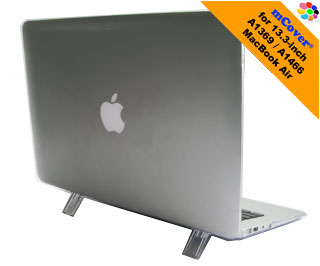 Clear hard                                 shell case for MacBook Air A1369                                 13.3""