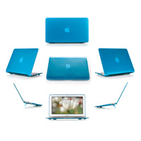 Aqua hard brick design shell case                                   for MacBook Pro Air 11.6""