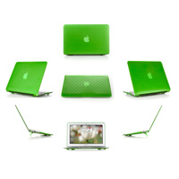Green hard brick design shell                                   case for MacBook Pro Air 11.6""