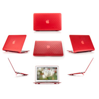 Red hard brick design shell case                                   for MacBook Pro Air 11.6""