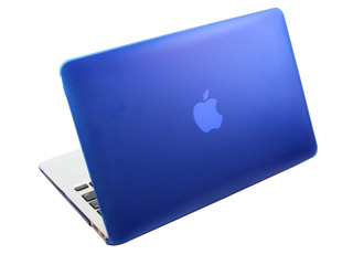 blue hard shell case for MacBook  					Pro Air 11.6""