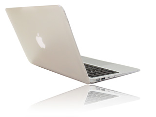 Clear hard  					shell case for MacBook Pro Air  					11.6""