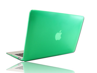 Green hard shell case for MacBook  					Pro Air 11.6""