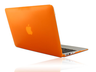 Orange hard shell case for                                   MacBook Pro Air 11.6""
