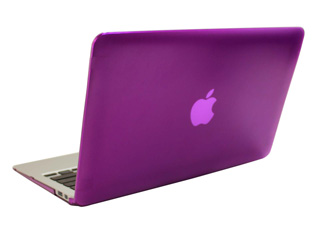 Purple hard shell case for                                   MacBook Pro Air 11.6""