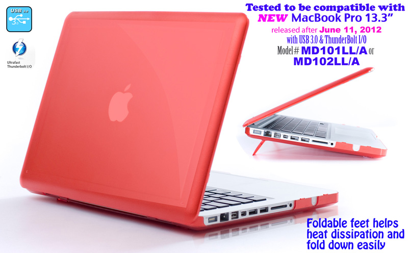 Aluminum  						MacBook Pro Hard Case with  						Thunderbolt