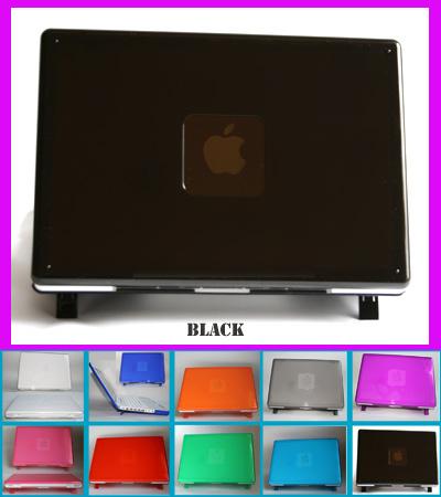 BLACK hard shell case for MacBook