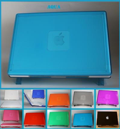 AQUA hard shell case for MacBook