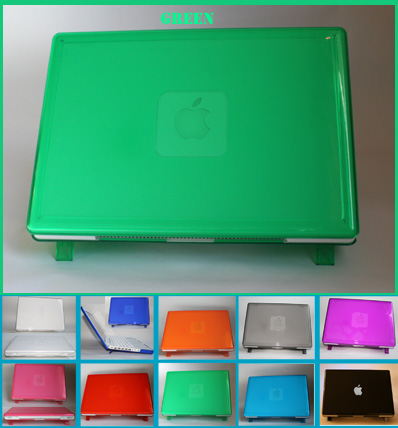 GREEN hard shell case for MacBook
