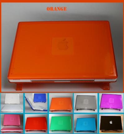 ORANGE hard shell case for MacBook