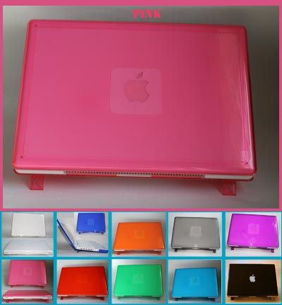 PINK hard shell case for MacBook