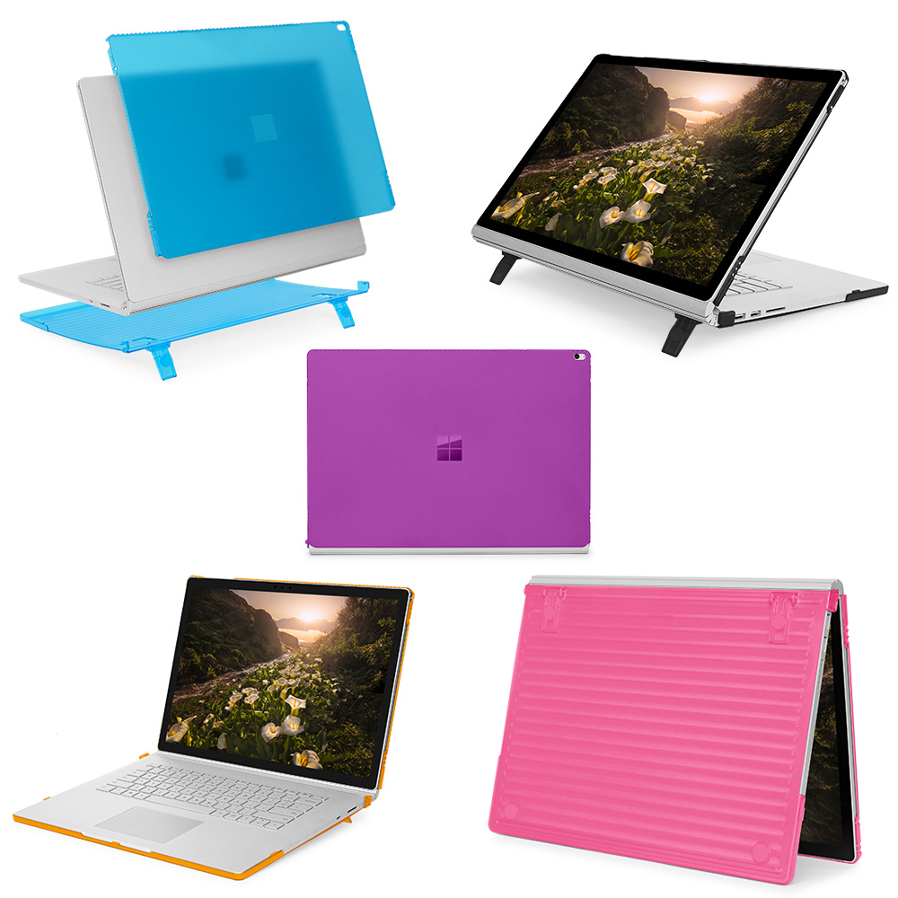 mCover Hard Shell case for 15-inch Microsoft Surface Book 2 laptop computer