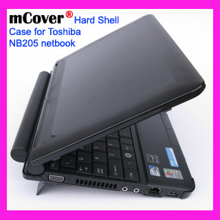 Black hard case for Toshiba NB205 Netbook