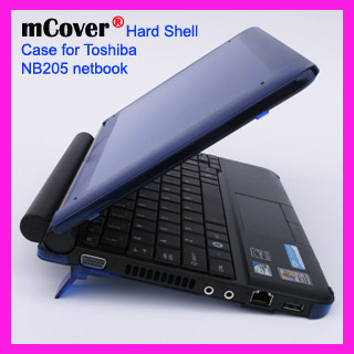 BLUE hard case for Toshiba NB205 Netbook