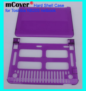 PURPLE hard case for Toshiba NB205  			Netbook