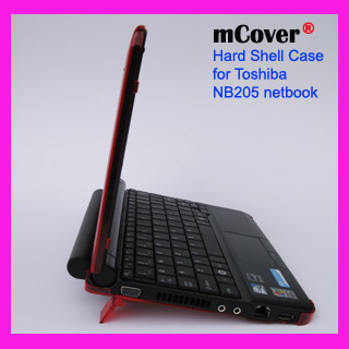 RED hard case for Toshiba NB205 Netbook
