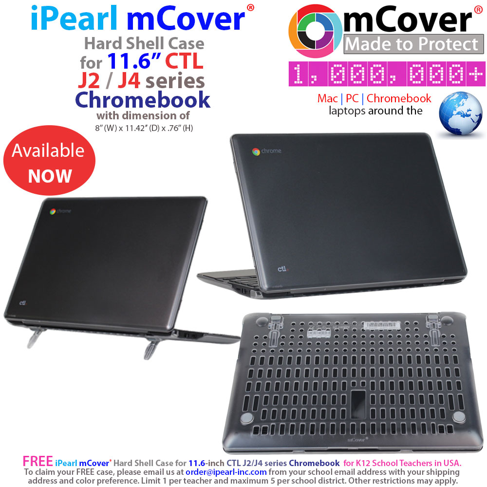 mCover Hard Shell case for Ctl J2 J4                               series Chromebook laptop