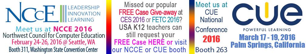 NCCE CUE 2016 Tradeshow image