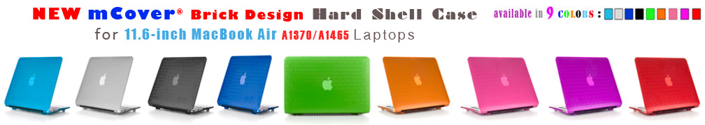 iPearl Brick                   Design hard case for Apple MacBook Air 11-inch A1370                   A1465