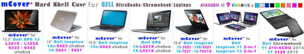 iPearl mCover for Dell  			laptops