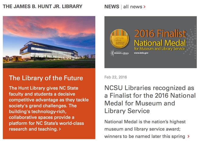 NCSU Hunt Lib