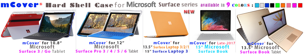 mCover Hard Shell case for                       Microsoft Surface series
