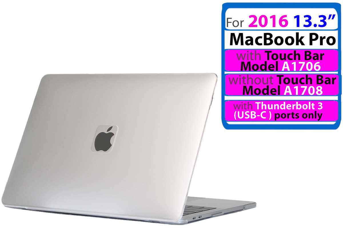 """mCover® HARD CASE for NEW 2016 15.4/"""" A1707 MacBook Pro Touch Bar USB-C ports"""