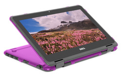 mCover Hard Shell case for 11.6-inch Dell Chromebook 11 3181 2-in-1 ( released in 2019 )