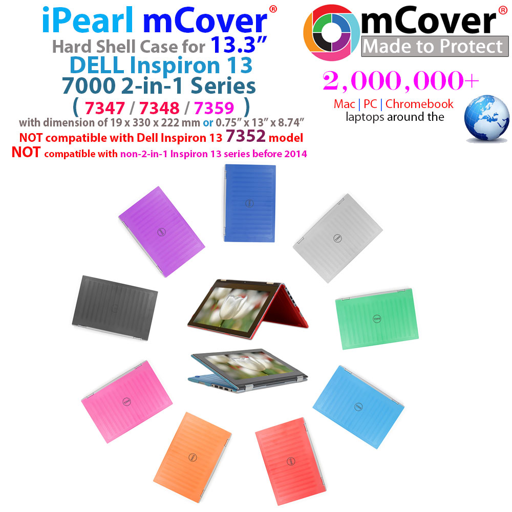 00b0f402cfcb Details about NEW iPearl mCover Hard Case for 13