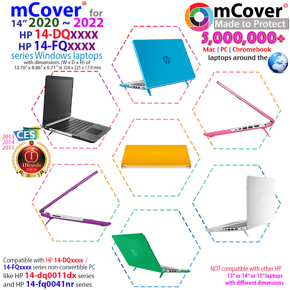 New Mcover Hard Shell Case For 14 Hp Pavilion 14 Dqxxxx Series Windows Laptop Ebay