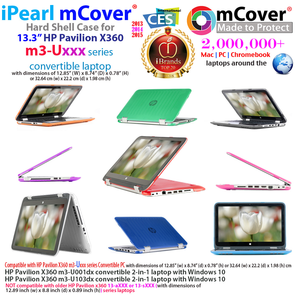 Details About New Mcover Hard Shell Case For 13 3 Hp Pavilion X360 M3 Ux 2 In 1 Laptop