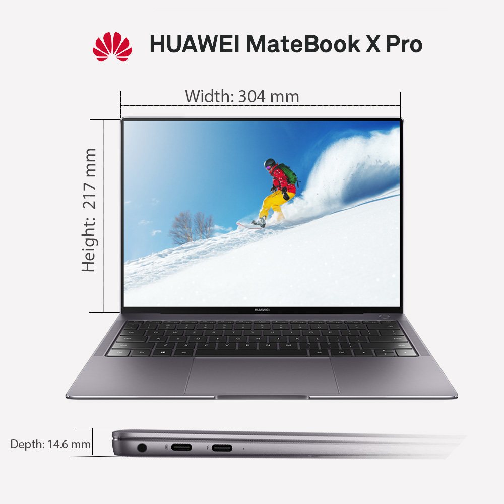 mCover Hard Shell case for Huawei MateBook X Pro 13.9-inch